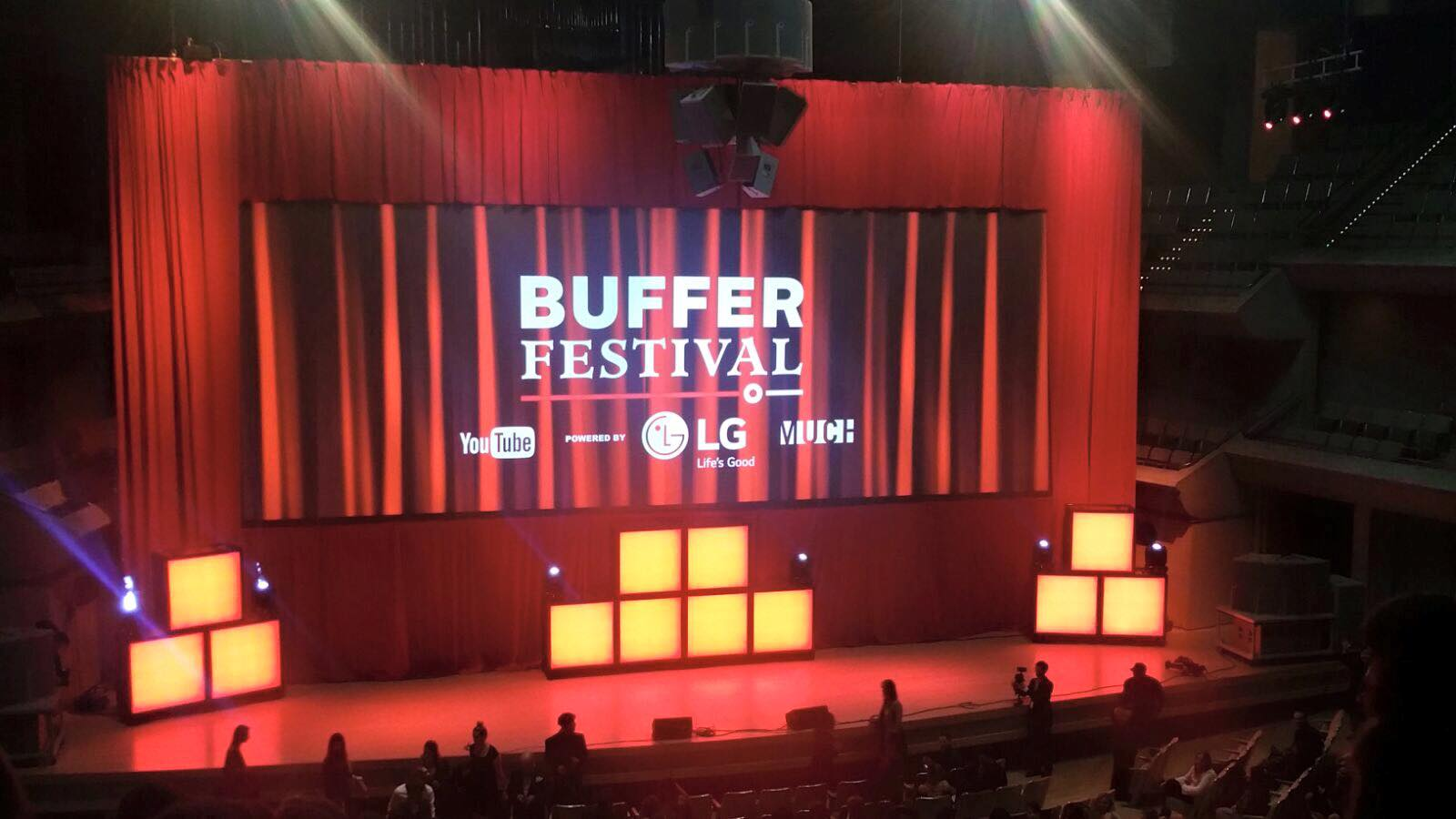 Annual Buffer Festival Youtube Content